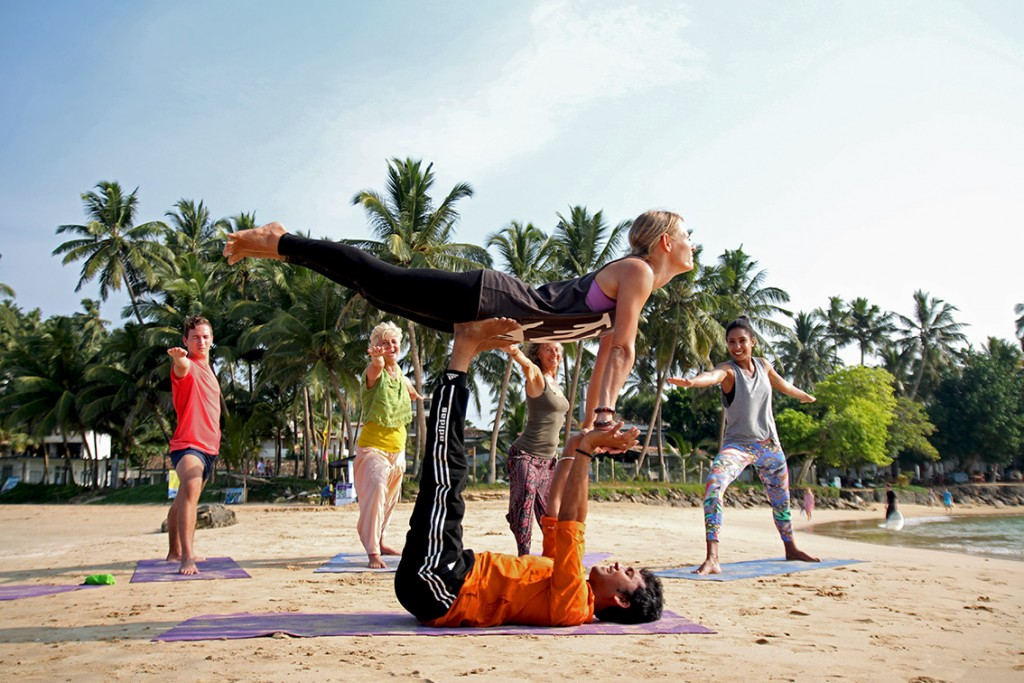 Sunrise Yoga Session