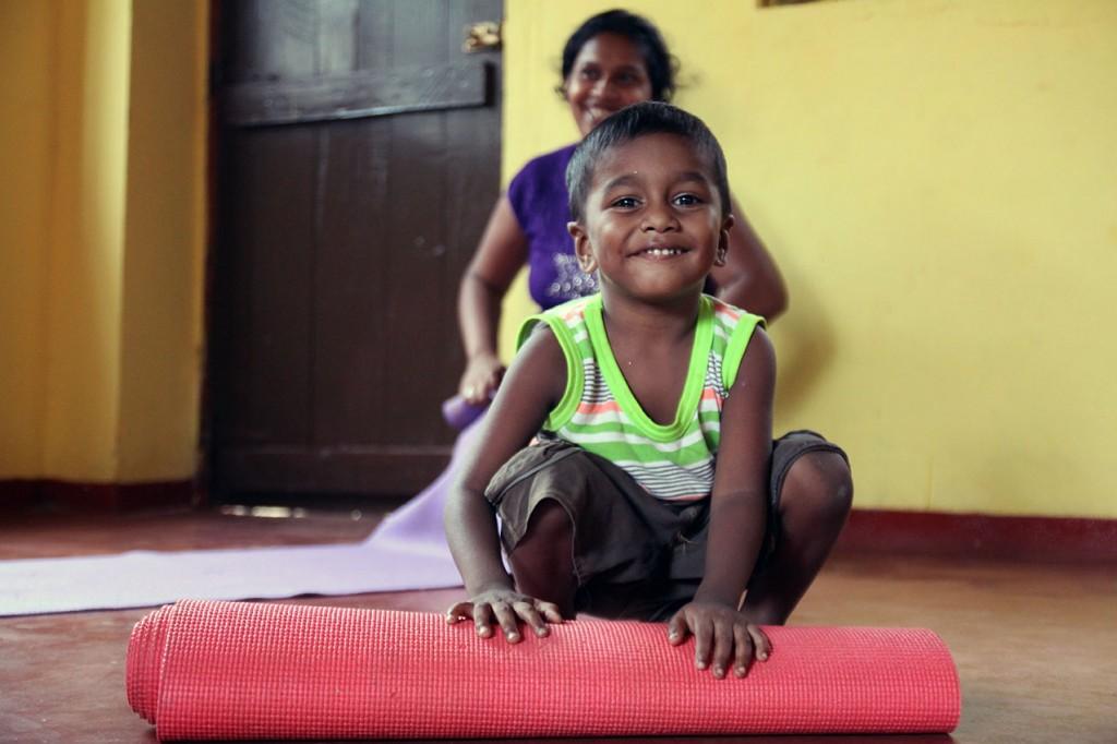 Yoga at Mirissa´s Hilltop Temple